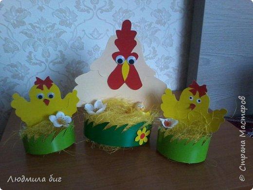 Курица и цыплята.