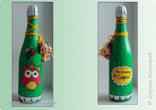 Оформление бутылок фото 4