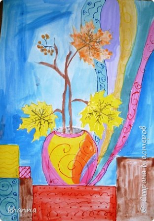 Рисунок Анжелы, ученицы 6 класса. фото 4
