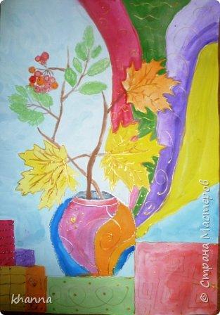 Рисунок Анжелы, ученицы 6 класса. фото 5