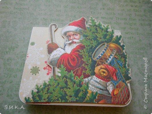 Новогодние мини открытки фото 4