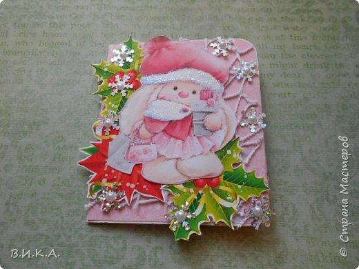 Новогодние мини открытки фото 3