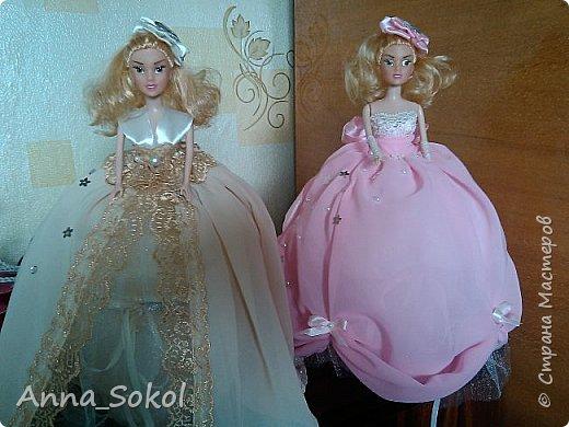 Куколки делались двум сестричка! Розовая для младшей) фото 20