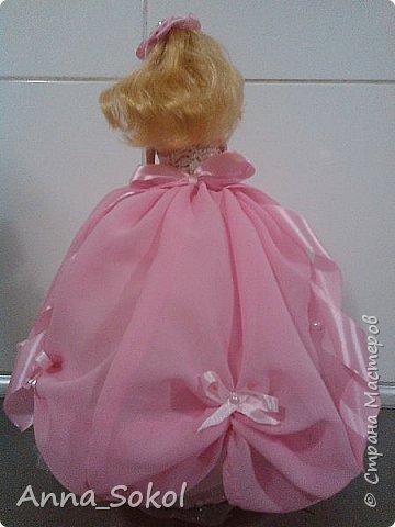 Куколки делались двум сестричка! Розовая для младшей) фото 9