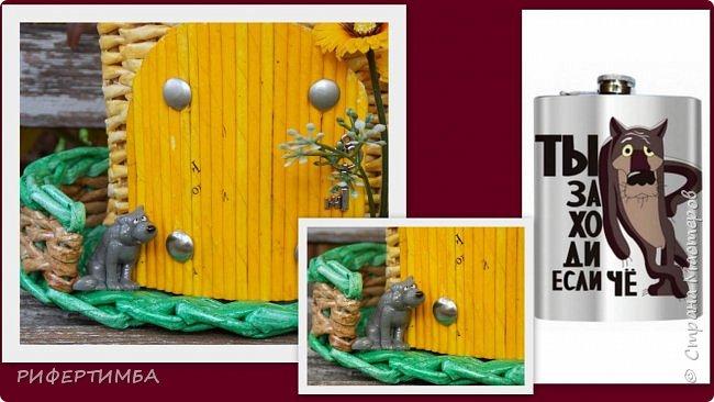 Корзина бельевая.Трубочки из газеты.Кромка-синие,с буквами черные.Красила колером с лаком,водой,грунтовкой. фото 15