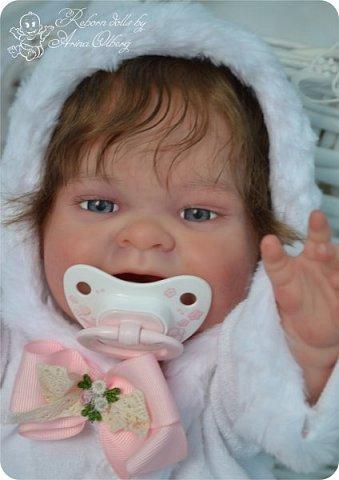 """Здравствуйте, девочки-мастерицы!Я к вам с новорожденными сестричками, вчера """"родились"""". Малышки по 35см, вес каждой по 1 кг. Очень позитивные, поднимающие настроение, пухленькие, тискательные, хоть и маленькие. Поглядите- Оленька и Алёнка. фото 15"""