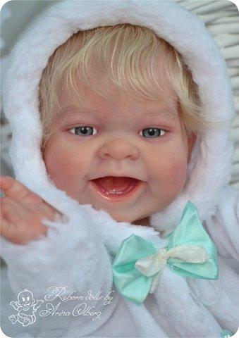"""Здравствуйте, девочки-мастерицы!Я к вам с новорожденными сестричками, вчера """"родились"""". Малышки по 35см, вес каждой по 1 кг. Очень позитивные, поднимающие настроение, пухленькие, тискательные, хоть и маленькие. Поглядите- Оленька и Алёнка. фото 16"""