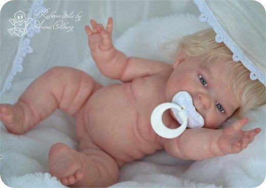 """Здравствуйте, девочки-мастерицы!Я к вам с новорожденными сестричками, вчера """"родились"""". Малышки по 35см, вес каждой по 1 кг. Очень позитивные, поднимающие настроение, пухленькие, тискательные, хоть и маленькие. Поглядите- Оленька и Алёнка. фото 25"""