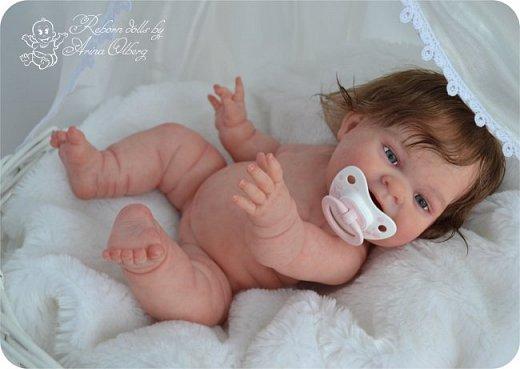 """Здравствуйте, девочки-мастерицы!Я к вам с новорожденными сестричками, вчера """"родились"""". Малышки по 35см, вес каждой по 1 кг. Очень позитивные, поднимающие настроение, пухленькие, тискательные, хоть и маленькие. Поглядите- Оленька и Алёнка. фото 26"""
