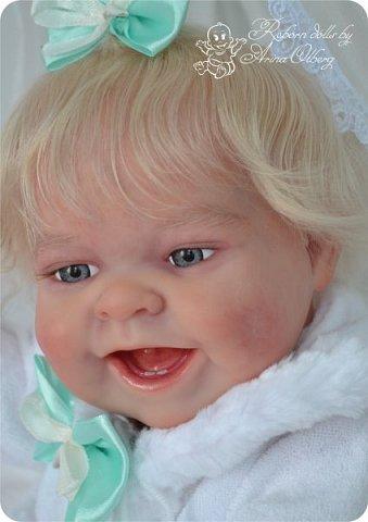 """Здравствуйте, девочки-мастерицы!Я к вам с новорожденными сестричками, вчера """"родились"""". Малышки по 35см, вес каждой по 1 кг. Очень позитивные, поднимающие настроение, пухленькие, тискательные, хоть и маленькие. Поглядите- Оленька и Алёнка. фото 8"""