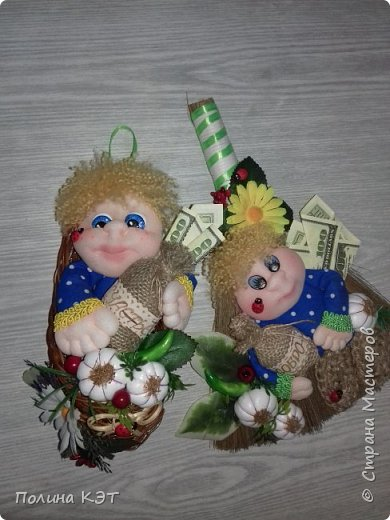 Домовята на березовых пеньках. фото 6