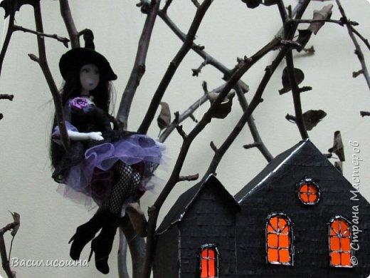 Хеллоуин на работе удался.Вильма отправилась туда пошалить)))) фото 5