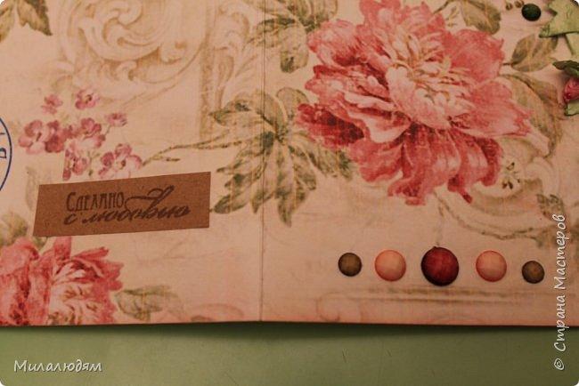 Всем здравствуйте!  Сегодня я с открыткой на день рождения. Хочу показать разницу ночных и дневных фото. Это ночные. Несвойственная для меня цветочная композиция водопадом. Но мне понравилось. фото 7