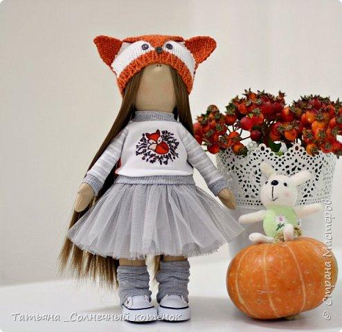 Текстильная куколка Василиса фото 1