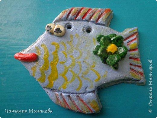 """В этом учебном году у меня опять внеурочные занятия """"Азбука солёного теста"""". Первые работы пятиклассников """"Рыбки"""". Это действительно их первые работы с солёным тестом. Рыбок вырезали самостоятельно, без шаблонов. фото 5"""
