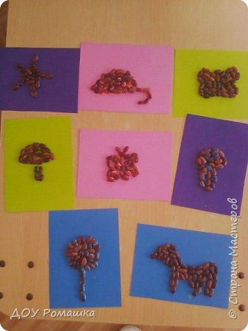 Картины из фасоли