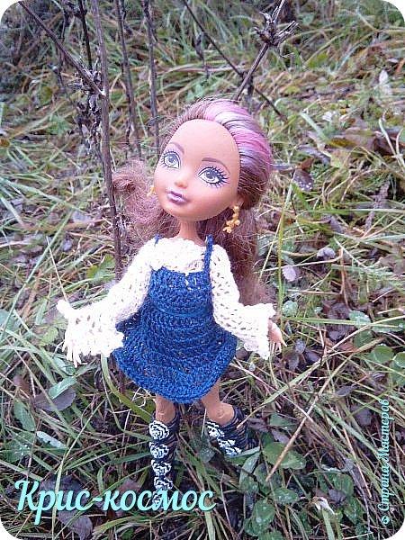 Привет, см! Вот я решила показать новое платье и фотки в школе.  фото 1