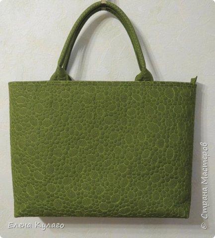 Текстильная сумка с аппликацией и свободно-ходовой машинной стежкой. Размер сумки 42х32х11 . Ткань - лен однотонный. Подкладка х/б ткани(бязь). фото 2