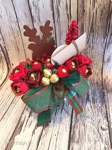 Добрый вечер девочки , у меня наступила пора заготовки новогодних подарков. Я в ноябре всегда делаю несколько работ , для примеров в альбом. Может кому пригодятся мои идеи. фото 9