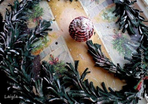 К вашему вниманию представляю 2 часть(первая  в предыдущем блоге).. За основу этого короба взято пластиковое ведро ..лепка из глины.салфетка.. фото 29