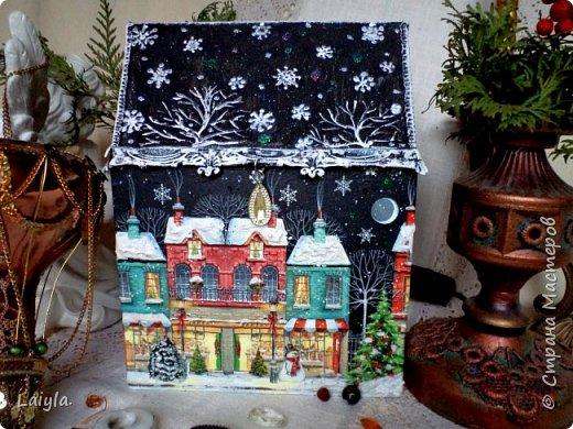 Здравствуйте ,уважаемые мастера !Начала подготовку к Новому году с упаковок для подарков своим родным и близким.  фото 1