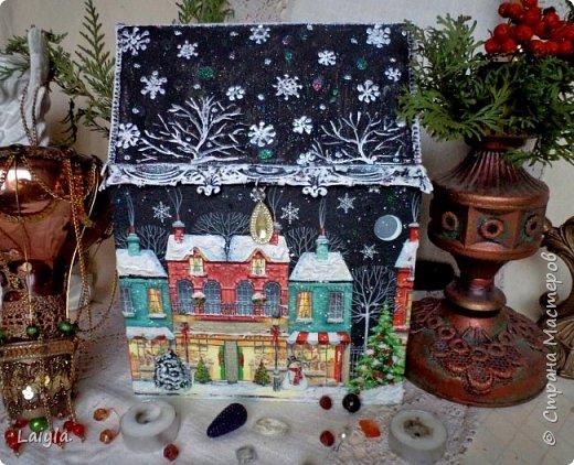 Здравствуйте ,уважаемые мастера !Начала подготовку к Новому году с упаковок для подарков своим родным и близким.  фото 2