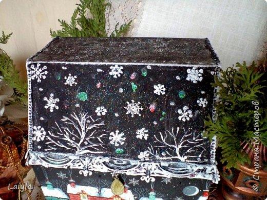 Здравствуйте ,уважаемые мастера !Начала подготовку к Новому году с упаковок для подарков своим родным и близким.  фото 3