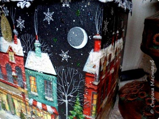 Здравствуйте ,уважаемые мастера !Начала подготовку к Новому году с упаковок для подарков своим родным и близким.  фото 5