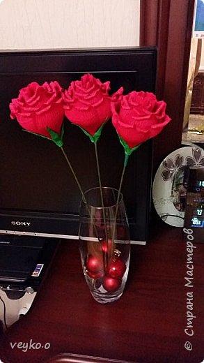 Розовые розы! фото 2