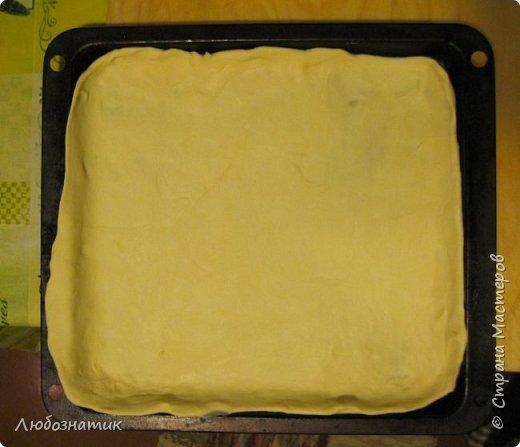 Добрый вечер! Хочу поделиться с вами опытом выпекания яблочно-калинового пирога. Рецепт теста из которого я пеку пироги - универсальный и проверен многократно. Начинку кладу любую. Итак начнём! Для теста:  0,5 л любого кефира; 200 г маргарина (растопить); 1 чайная ложка без верха разрыхлитель теста (или 0,5 ч. л.соды +1 ч. л. уксуса =гасить); соль по вкусу и мука. Замесить крутое тесто и дать постоять 30 - 40 мин. Из этого количества теста получается два больших пирога.                      фото 6