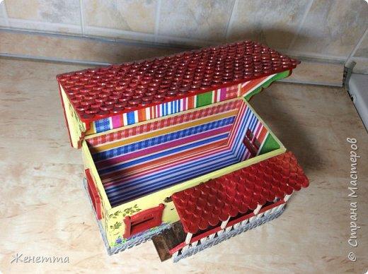 Домик для чая, сделанный с любовью))) фото 9