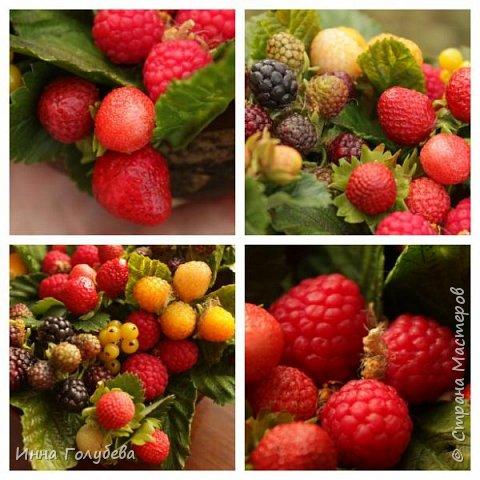 Девочки,привет! Налепила вот таких ягодок, часть из них делала на заказ и добавила разнообразия,заодно немного пофоткала процесс тонировки. фото 16