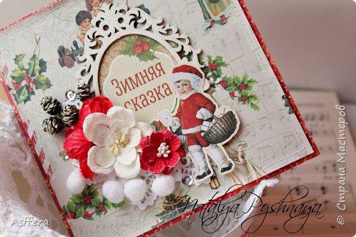 А вы готовы у новому году? У меня сложились вот такие открыточки! фото 3