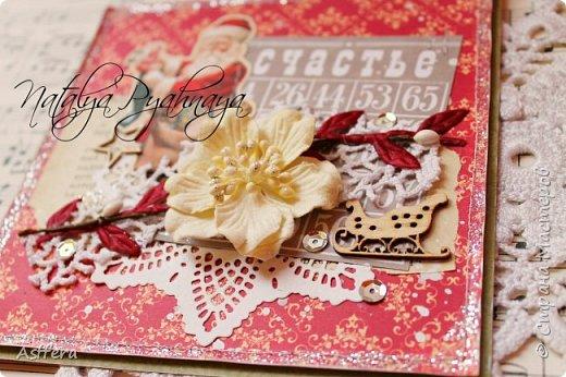 А вы готовы у новому году? У меня сложились вот такие открыточки! фото 2
