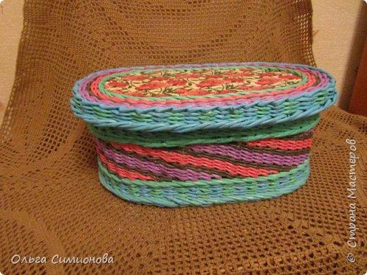 Послойное плетение веревочкой, по МК Натальи Сорокиной фото 5