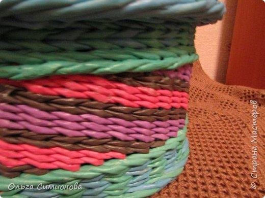 Послойное плетение веревочкой, по МК Натальи Сорокиной фото 6