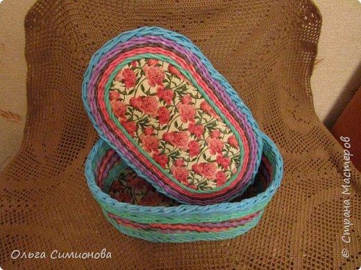Послойное плетение веревочкой, по МК Натальи Сорокиной фото 7