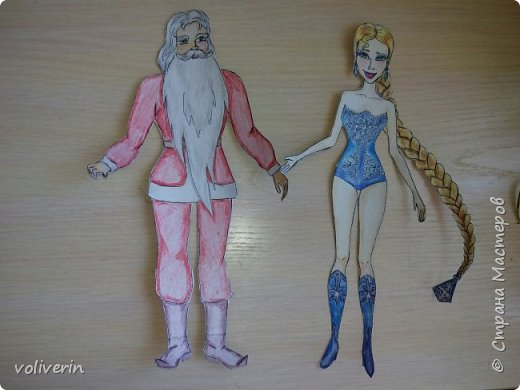 Две куклы к новому году фото 3