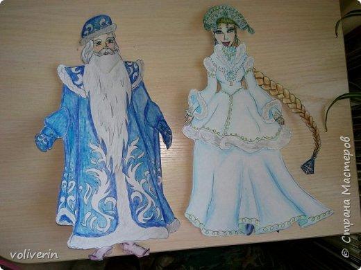 Две куклы к новому году фото 6