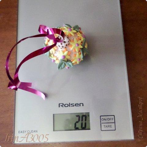 «Ёлочная игрушка – цветочный шар» фото 21