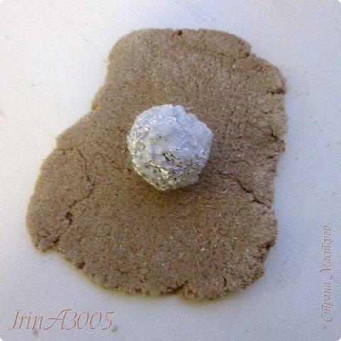 «Ёлочная игрушка – цветочный шар» фото 5