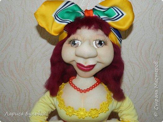 """Хочу представить свою  новую куколку - женщину в стиле """"Солохи"""" фото 4"""