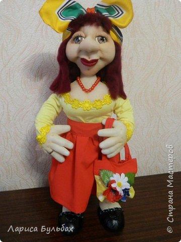 """Хочу представить свою  новую куколку - женщину в стиле """"Солохи"""" фото 1"""
