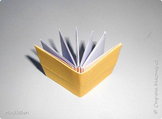 Оригами книжка. Простая поделка из бумаги для начинающих