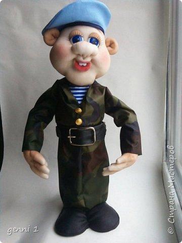 Кукла бар Десантник. фото 1