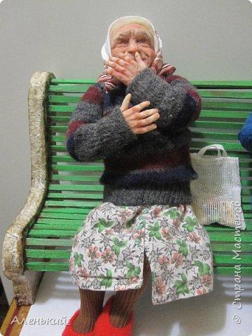 Собрались две старушки-бабульки на скамеечке, и давай перемывать всем косточки! фото 2
