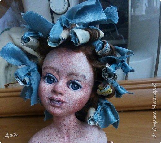 Здравствуйте!  Почти каждый кукольник имеет свою зайку. А теперь и у меня звезды сошлись))  фото 8