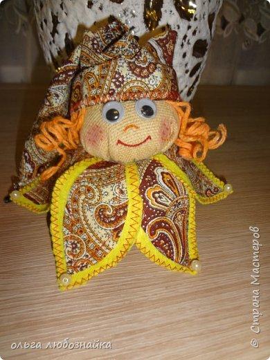 Добрый вечер! Я опять к вас с мини куколкой. Хоть она и мини, но делать ее долго. И опять я ее делала по МК Людмилы Котовойhttp://stranamasterov.ru/node/828880 Смотрим дальше. фото 1