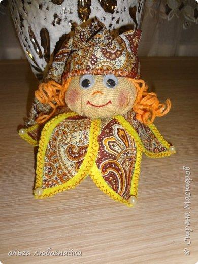 Добрый вечер! Я опять к вас с мини куколкой. Хоть она и мини, но делать ее долго. И опять я ее делала по МК Людмилы Котовойhttp://stranamasterov.ru/node/828880 Смотрим дальше. фото 2
