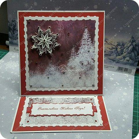 коробочка. Очень понравились открытки мастерицы Ольги  Краевой.  http://stranamasterov.ru/node/474252?c=favorite фото 9